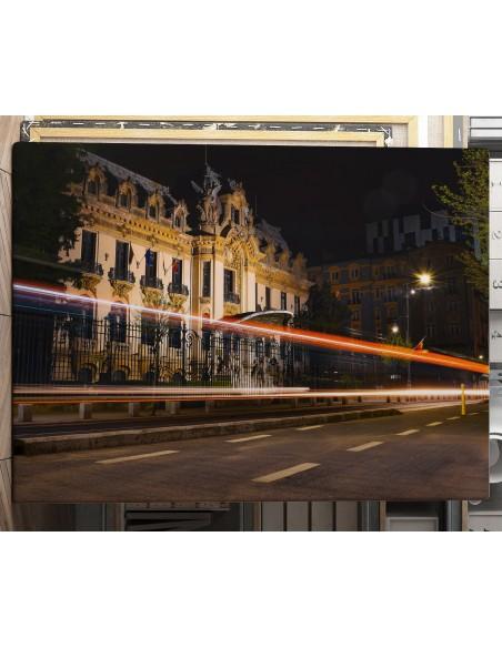 Bucharest Buildings - Canvas