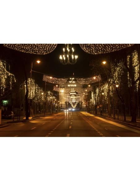 Lumini in Bucuresti - Canvas