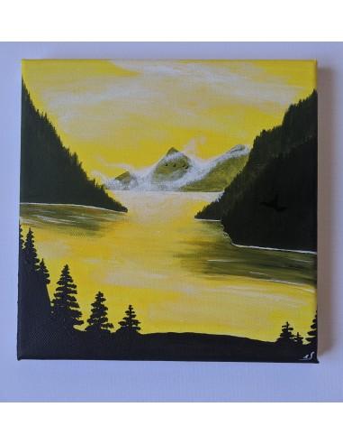 Apus pe lac