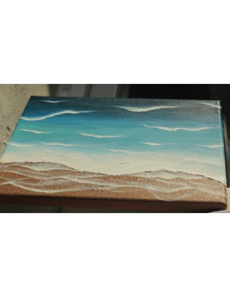 Detaliu - Valuri pe nisip