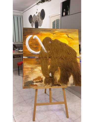 Mamut la apus