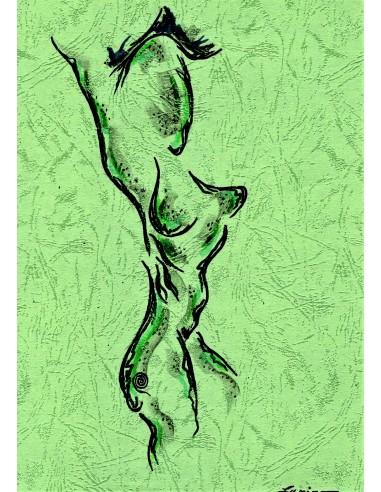 Nud verde
