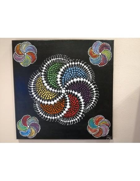 Rodica Anghel -Light mandalas -,,Lumina si culoare,,