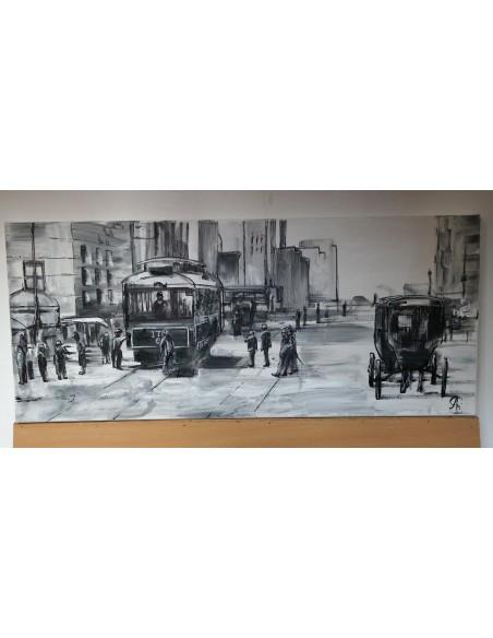 Vintage New york in alb negru