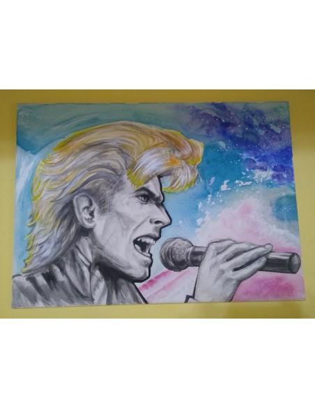 Portret David Bowie