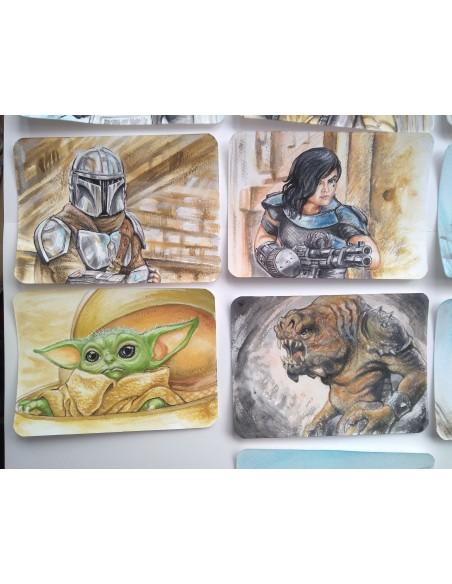 Colectie de picturi Starwars