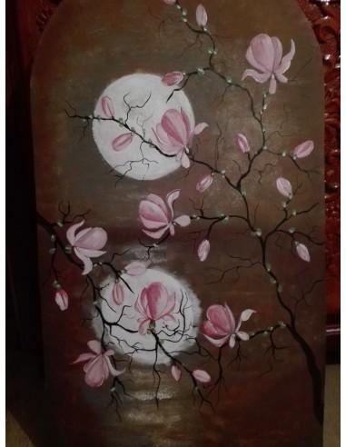 Magnolii in noapte