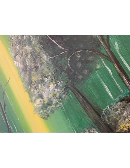 Peisaj- Copac in lumina