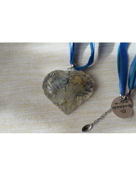 "Colier ""Blue Heart"""