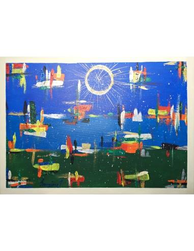 """Pictura tablou """"Trafic aerian"""""""