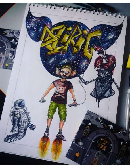 Deliric- A Galaxy Story
