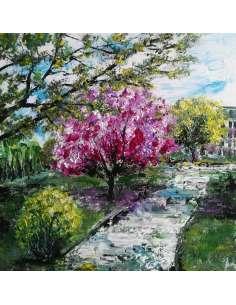Primăvara în parc