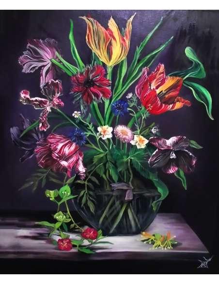 Spring Bouquet still life