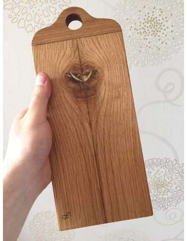 Platou mic din lemn de stejar