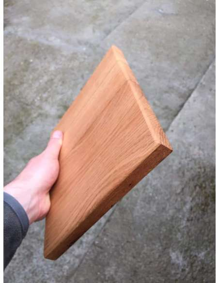 Platou mare din lemn de stejar