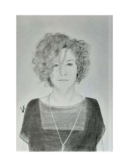 Portret la comandă, format A4