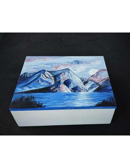 Cutie pentru bijuterii pictată manual
