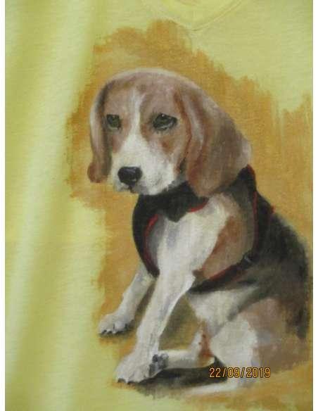 Tricouri cu animale, pictate manual, disponibile doar la comanda