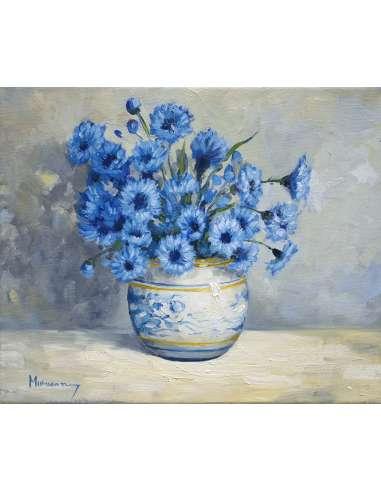 Vaza cu albastrele