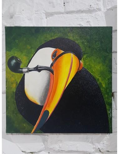 Anthropomorphic Toucan