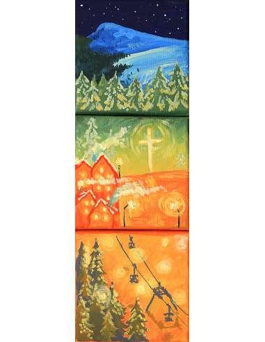 Trio - peisaj Statiunea Straja
