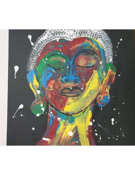 Colored Buddha