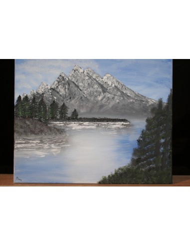 Pictura Lac de munte