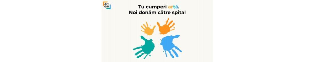 Donație COVID 19 - Tu cumperi artă, noi donăm către spital